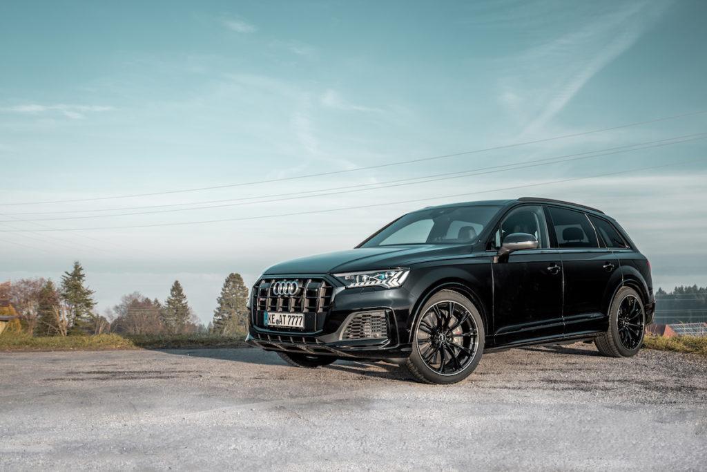 Audi SQ7 SUV Tuning Abt Sportsline Leistungssteigerung Felgen