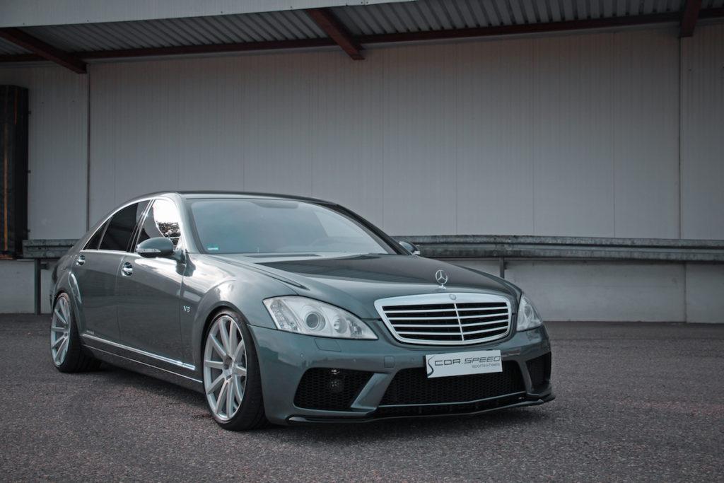 Mercedes-Benz S 500 L W221 JMS Fahrzeugteile Tuning Cor.Speed DeVille Felgen