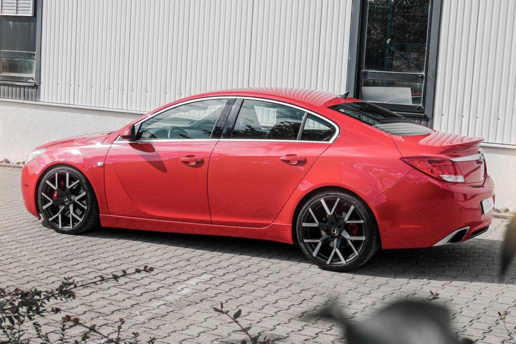 Opel insignia OPC Barracuda Racing Wheels Tzunamee EVO JMS Fahrzeugteile Felgen Tieferlegung