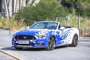 Ford Mustang GT Cabriolet Tuning Felgen Z-Performance ZP.FORGED 14 Folierung Fahrwerk Abgasanlage