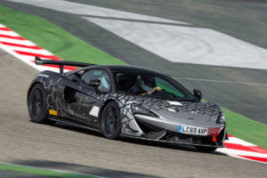 limitiertes Sondermodell Motorsport-Ableger McLaren 620R Sports Series Mittelmotor Sportcoupé