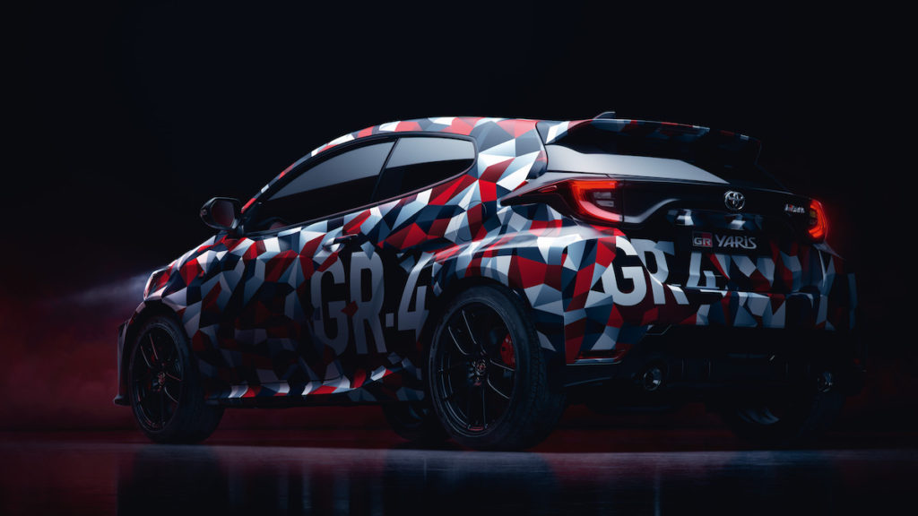 WRC Motorsport Gazoo Racing Sportmodell Toyota GR Yaris Kleinwagen Neuheit Tokyo Auto Salon