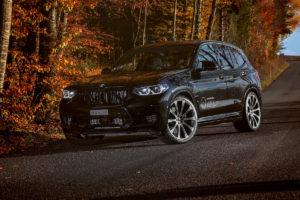 dÄHLer Competition Line BMW X3 M Tuning Leistungssteigerung Abgasanlage Fahrwerk Felgen CDC1