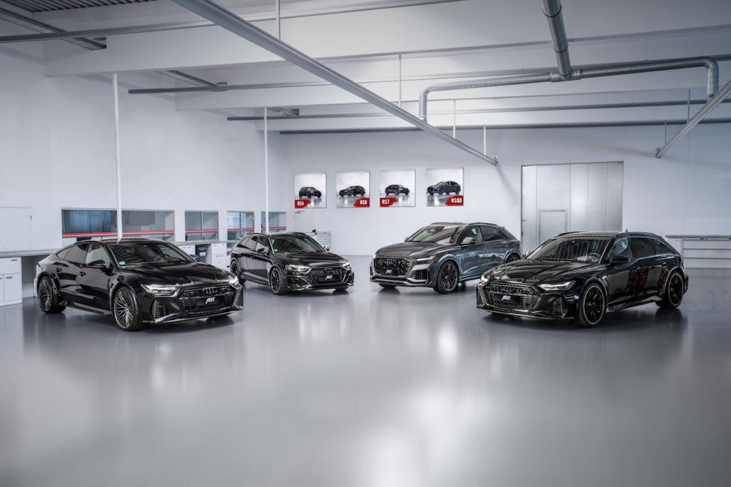 Abt Sportsline Neuheiten 2020 Audi RS 4 RS 6 RS 7 Sportback RS Q8