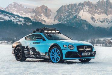 GP Ice Race Zell am See Österreich Bentley Continental GT Einzelstück Racing Motorsport Catie Munnings