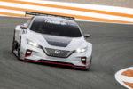 Elektroauto Rennwagen Racing Motorsport Nissan Leaf Nismo RC