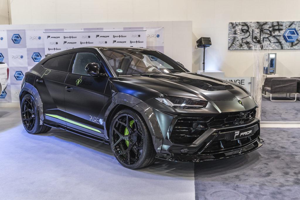 Prior-Design Lamborghini Urus SUV Widebody Breitbau Aerodynamik-Kit by Roberto Geissini