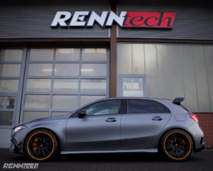 RENNtech Tuning Leistungssteigerung Mercedes-AMG A 45 S Hot Hatch Felgen Tieferlegung