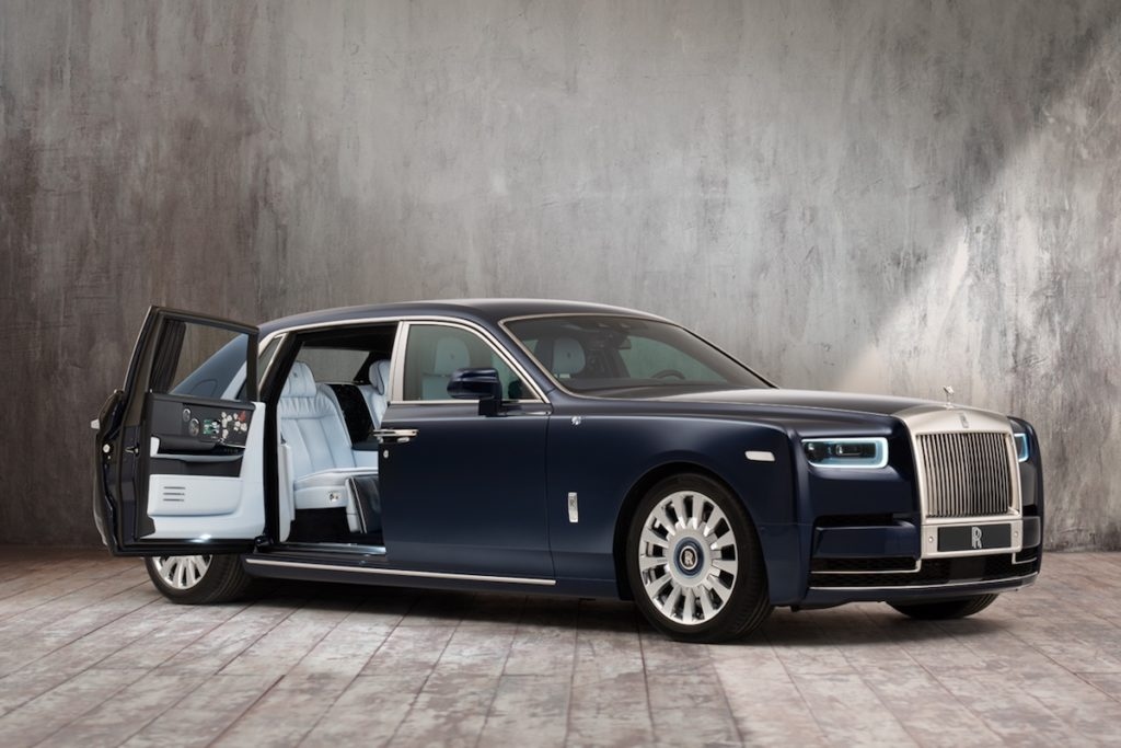 Luxuslimousine Exklusiv Individualisierung Rolls-Royce Rose Phantom Luxus