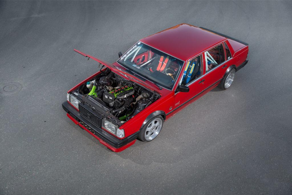 Performance Power-Limousine Finnland Tuning Volvo 740 GL Turbomotor