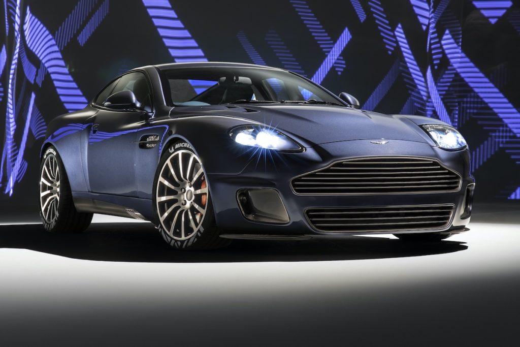 Supersportwagen Sondermodell Aston Martin Vanquish 25 by Callum
