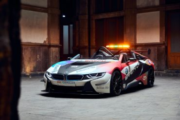 Formel E Mexico City E-Prix Neuheit premiere BMW i8 Roadster Safety Car