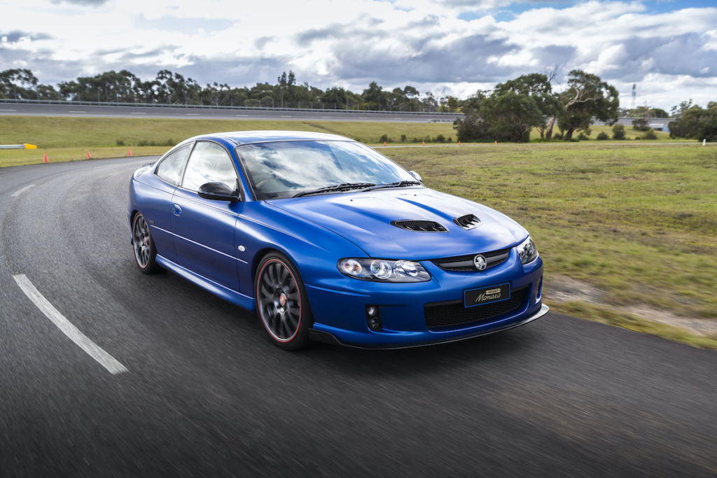 Einzelstück Modernisierung Überarbeitung Holden Project Monaro Sportcoupé V8