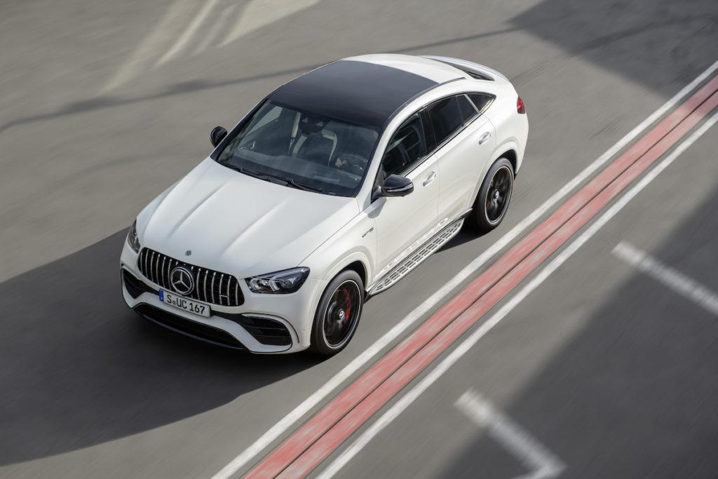 Genfer Autosalon 2020 Premiere Neuheit Mercedes-AMG GLE 63 S Coupé Biturbo-Achtzylinder