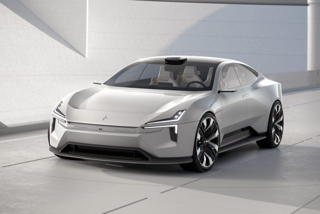 Polestar Precept Studie Zukunft Premiere Genfer Autosalon 2020 Elektroauto