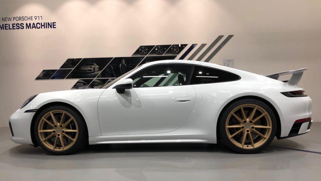 Porsche 911 SportDesign-Paket Aerokit 992 Sportcoupé