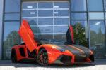 Lamborghini Aventador LP700-4 Supersportwagen Tuning Veredlung SCHAWE Car Design Carbon Leder Alcantara