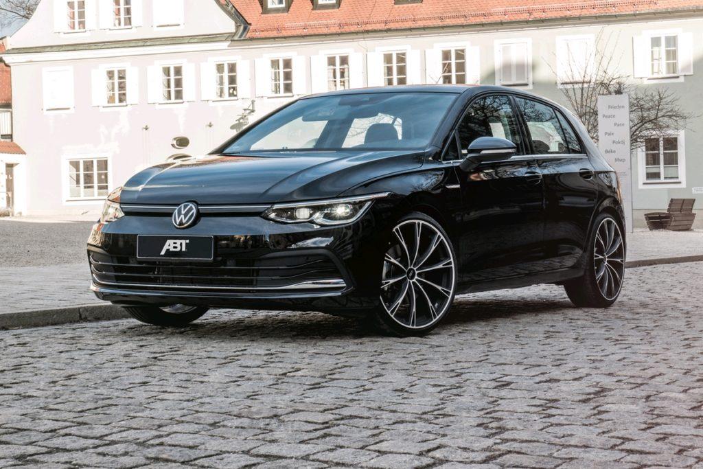 VW Golf 8 Kompaktklasse Bestseller Abt Sportsline Tuning Felgen Tieferlegung