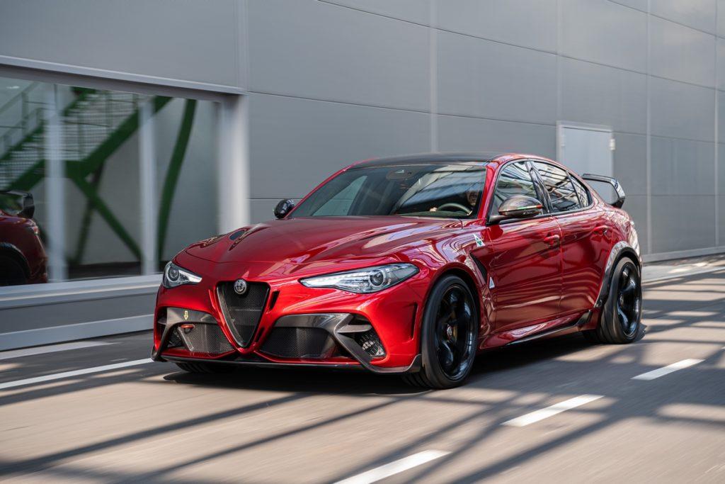 Neuheit Sportlimousine Alfa Romeo Giulia GTAm limitiertes Sondermodell