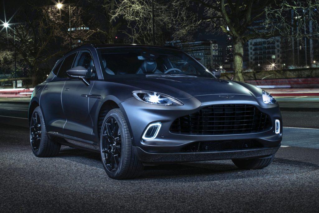 Q by Aston Martin Individualisierung Sonderausstattung DBX SUV
