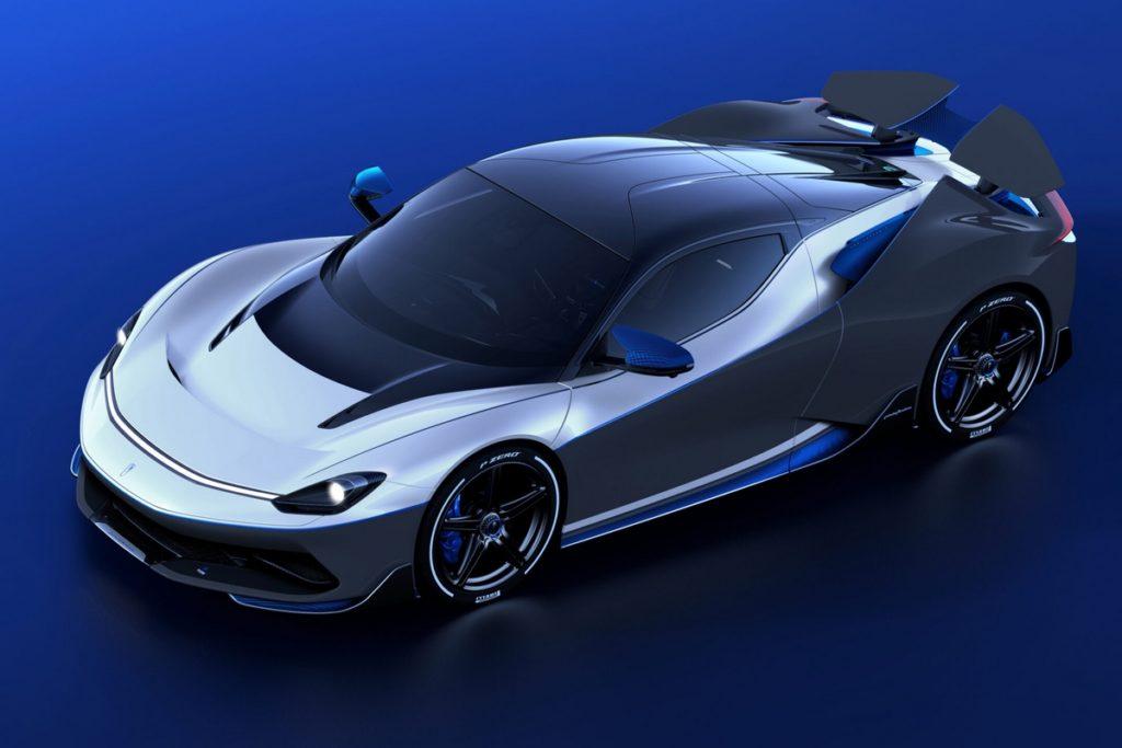 Neuheit Elektro-Hypercar Sportcoupé Mittelmotor Automobili Pininfarina Battista Anniversario