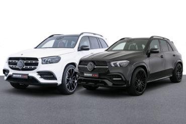 Brabus Tuning Leistungssteigerung Felgen Karosserieteile Mercedes-Benz GLS 400 d X167 GLE 300 d V167