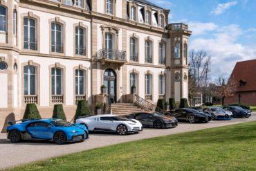Bugatti Chiron Pur Sport Centodieci Chiron Super Sport 300+ La Voiture Noire Divo Chiron Sport Hypercars Supersportwagen Molsheim Château St. Jean