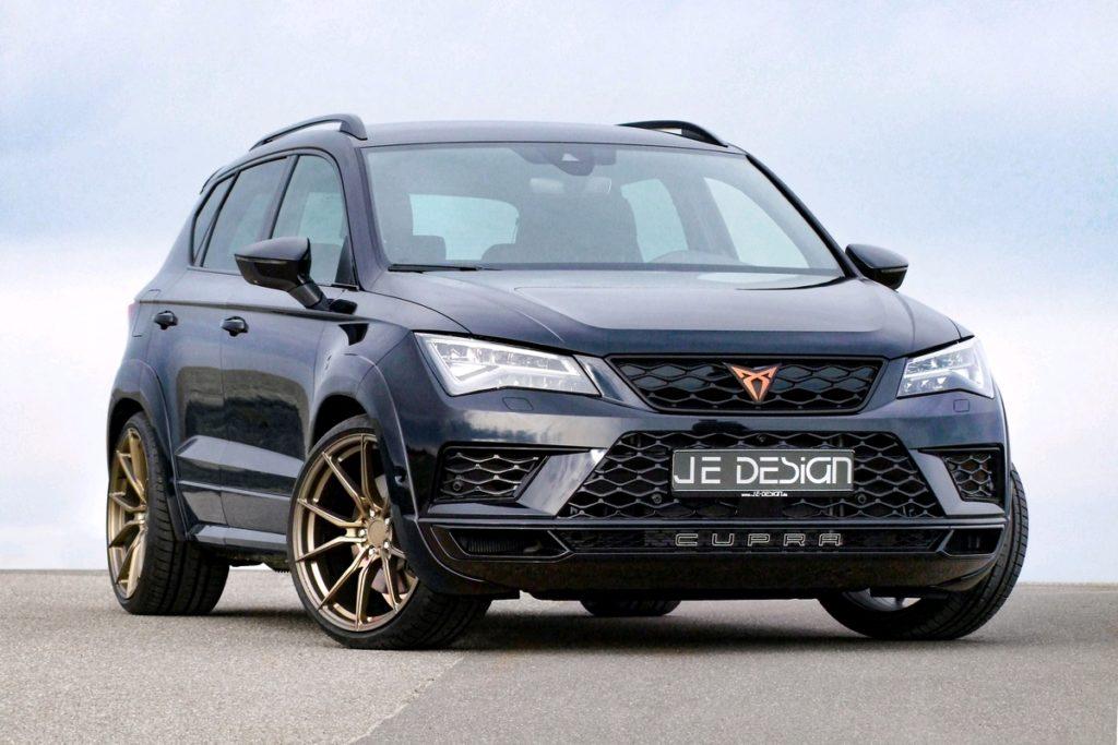 Cupra Ateca Sport-SUV Topmodell Tuning JE Design Bodykit Leistungssteigerung Felgen Tieferlegung