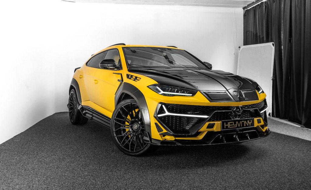 Tuning SUV Lamborghini Urus Keyvany Allradler Carbon-Bodykit Felgen Leistungssteigerung