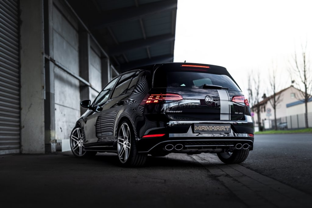 VW Golf R Kompaktsportler Hot Hatch Manhart Performance RS 450 Leistungssteigerung Felgen