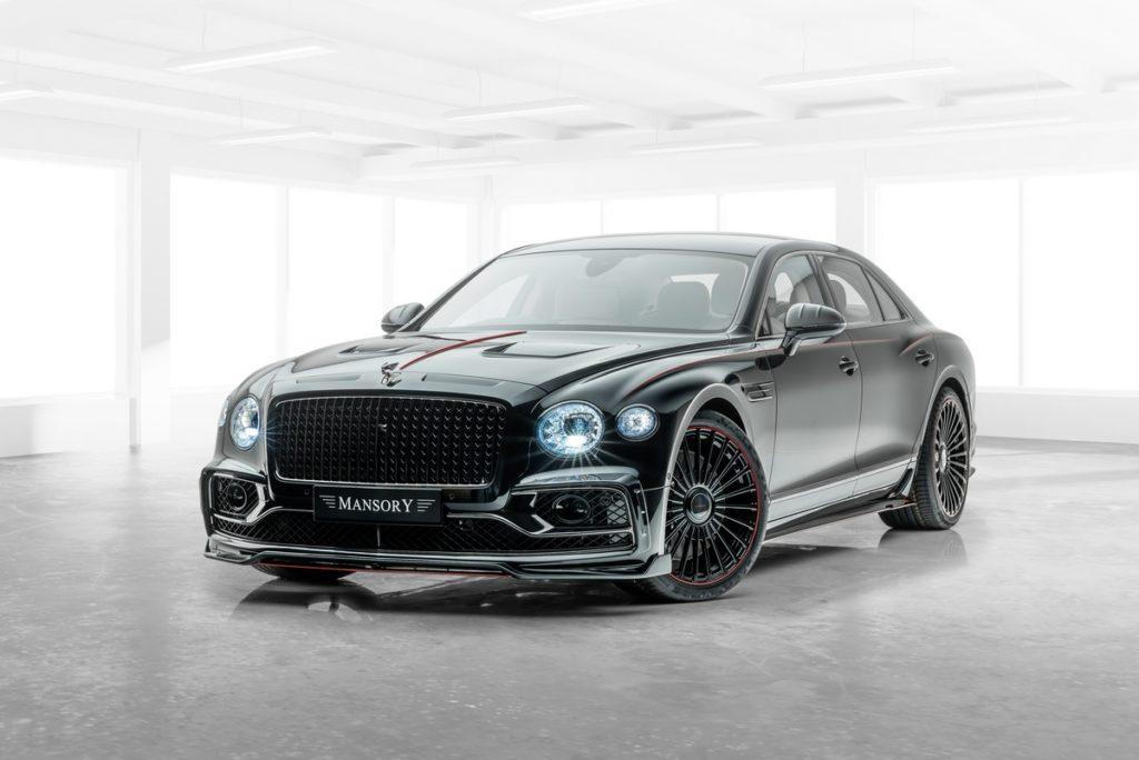 Bentley Flying Spur Tuning Mansory Leistungssteigerung Bodykit Felgen Innenraum-Veredlung