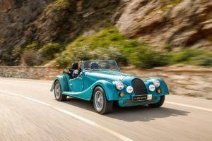 Roadster Klassiker Neuauflage Morgan Plus Four Großbritannien