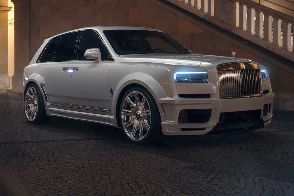 Tuning Rolls-Royce Cullinan Spofec Luxus-SUV Felgen Bodykit Breitbau