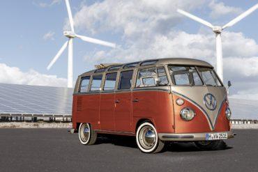 VW e-Bulli T1 Samba Umbau Elektroauto eClassics