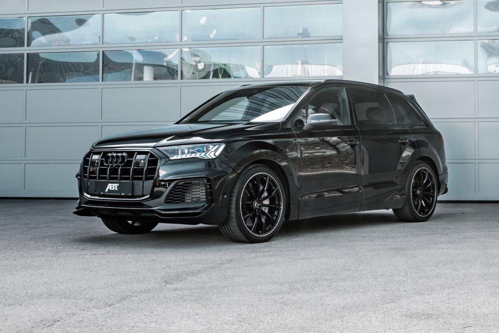 Audi SQ7 Facelift Abt Sportsline Tuning Widebody Breitbau-Bodykit Leistungssteigerung Felgen Räder