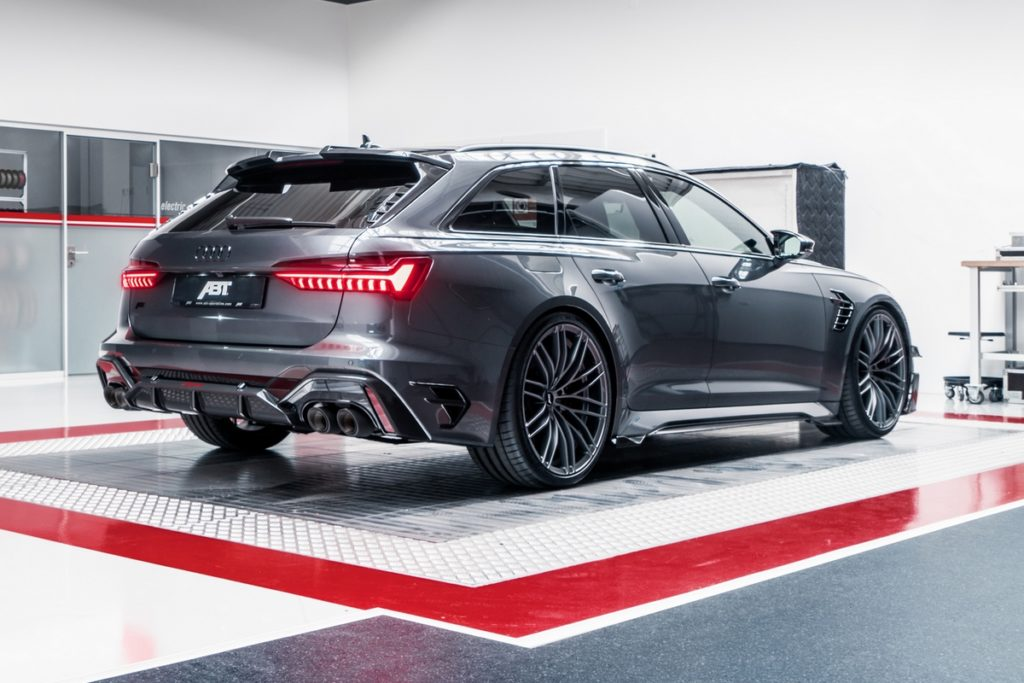 Audi RS 6 Avant Tuning Abt Sportsline RS6-R Leistungssteigerung Felgen Bodykit
