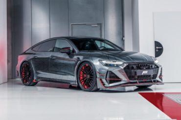 Audi RS 7 Sportback Tuning Abt Sportsline RS7-R limitiertes Sondermodell Bodykit Leistungssteigerung Felgen