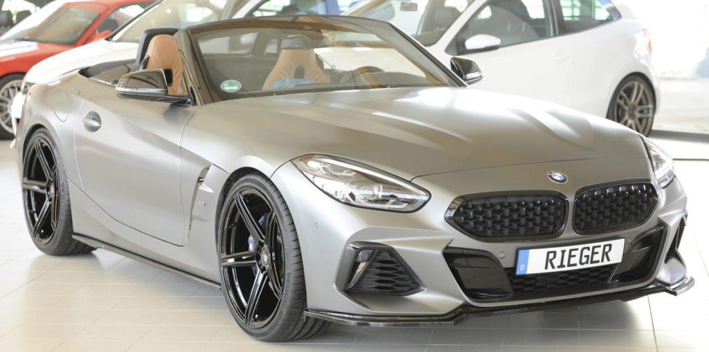 Rieger Tuning BMW Z4 G29 Karosserie-Anbauteile Spoilerlippe Seitenschweller-Ansätze Heckeinsatz