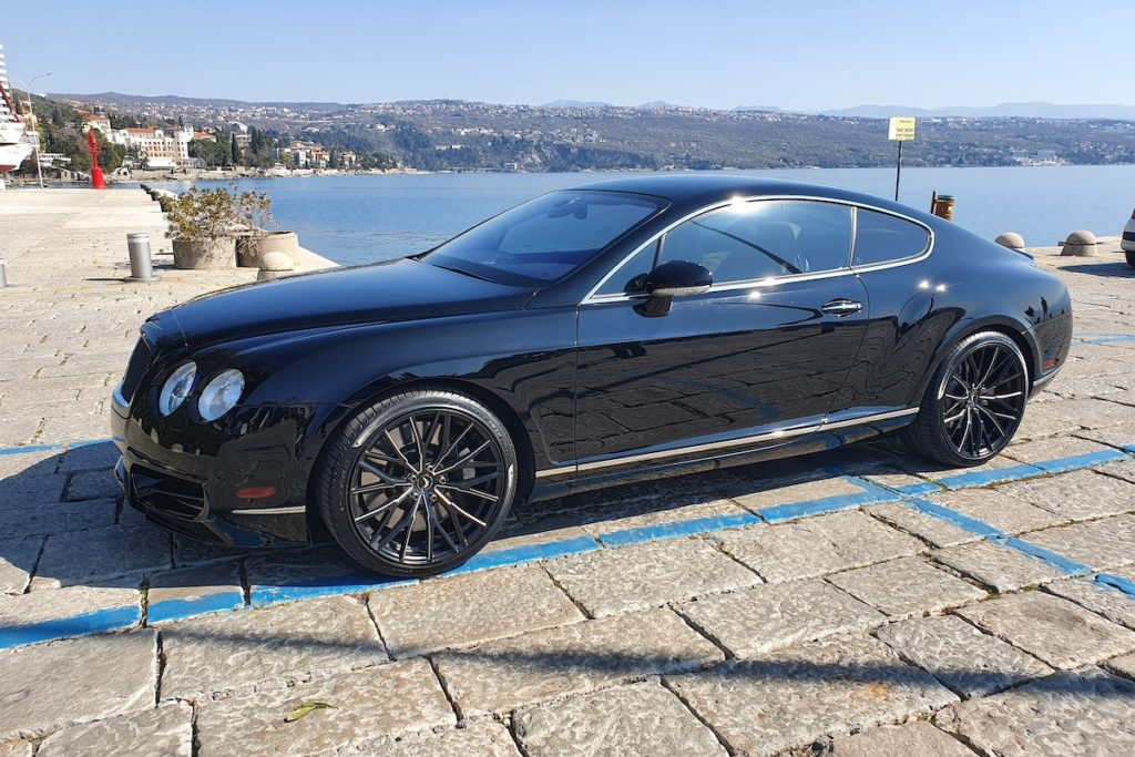 Bentley Continental GT Tuning Veredlung Barracuda Racing Wheels Umlralight Series Project 3.0 Felgen Räder