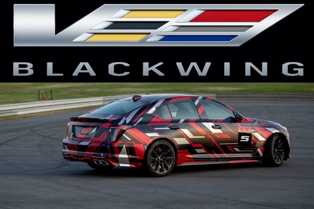 Sportlimousine Neuheit Topmodell Cadillac CT5-V Blackwing