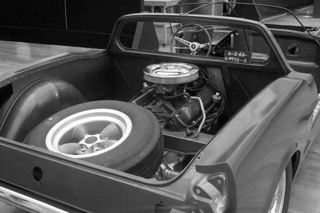 Ford Mustang Mittelmotor-Sportwagen mysteriöser Prototyp