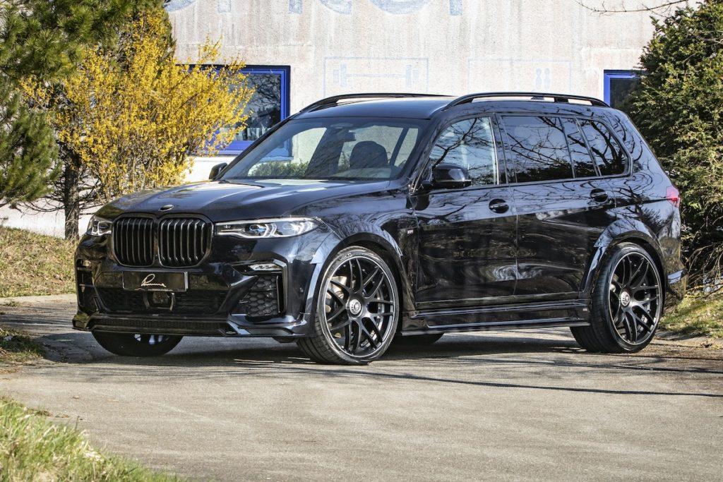 BMW X7 G07 Tuning Veredlung Lumma CLR X7 Widebody Breitbau Bodykit Felgen Innenraum