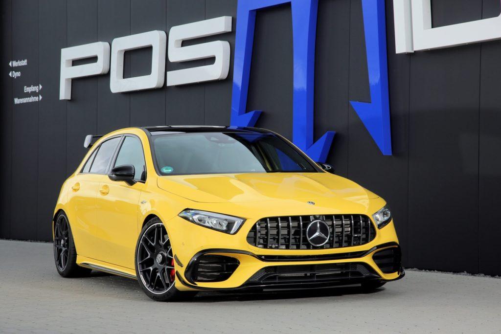 Mercedes-AMG A 45 Posaidon A45RS 525 Tuning leistungssteigerung Topmodell Hot Hatch Kompalktsportler