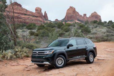 Volkswagen of America VW Atlas SUV Basecamp Accessory Line Ausstattungspaket