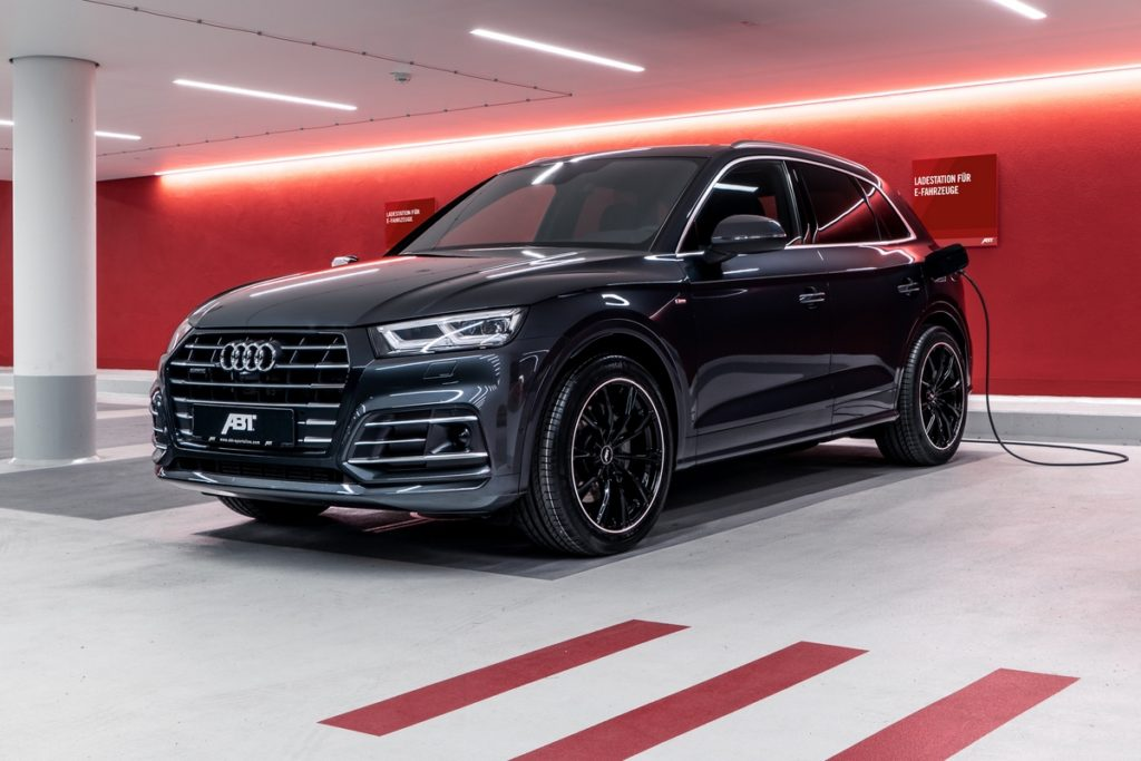 Audi Q5 55 TFSI e SUV Plug-in-Hybrid Tuning Abt Sportsline Leistungssteigerung Felgen