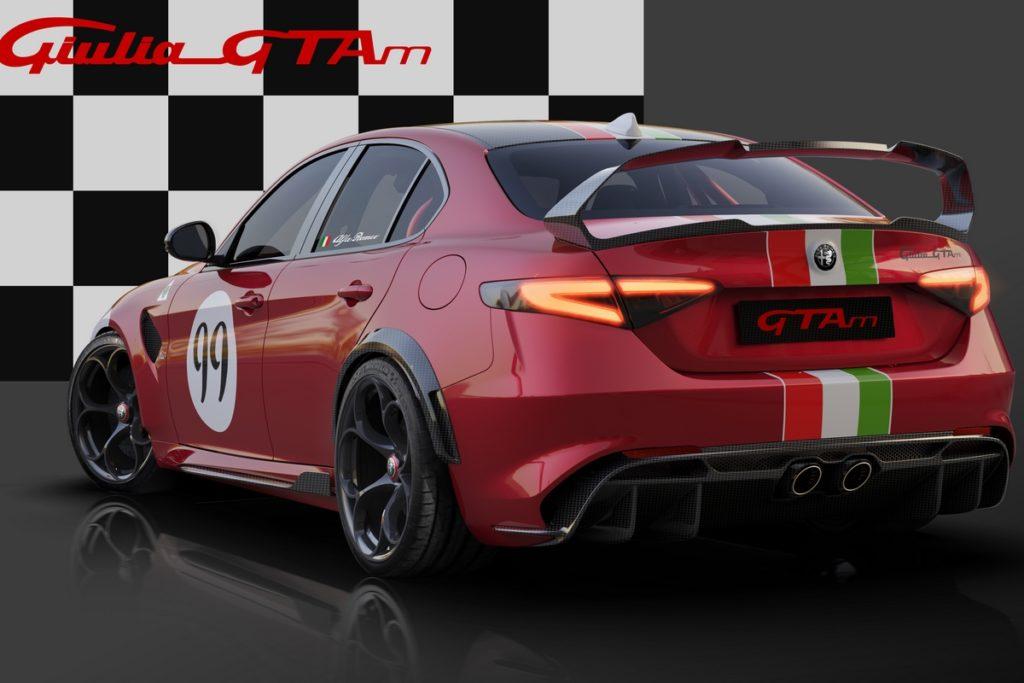 Alfa Romeo Giulia GTAm limotoertes Topmodell Jubiläum 110 Jahre Preis Centro Stile Racing Motorsport Design-Livery Lackierung Neuheit Sportlimousine