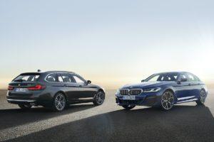 Facelift Neuheit Premiere BMW 5er G30 Limousine G31 Touring