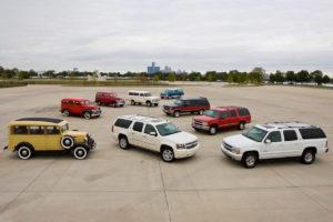 Jubiläum 85 Jahre Chevrolet Suburban Full-Size-SUV US-Car