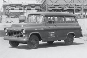 Chevrolet Suburban Jubiläum 85 Jahre US-Car SUV 1956