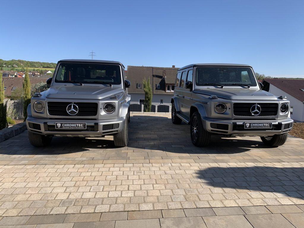 Chrometec Soundgenerator V8-Klang Mercedes-Benz G-Klasse W463A